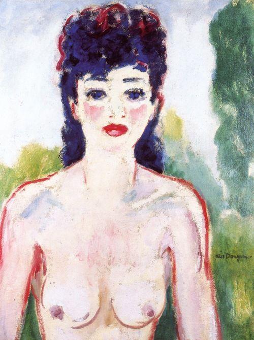 Kees van Dongen, Nude in a Landscape, 1920