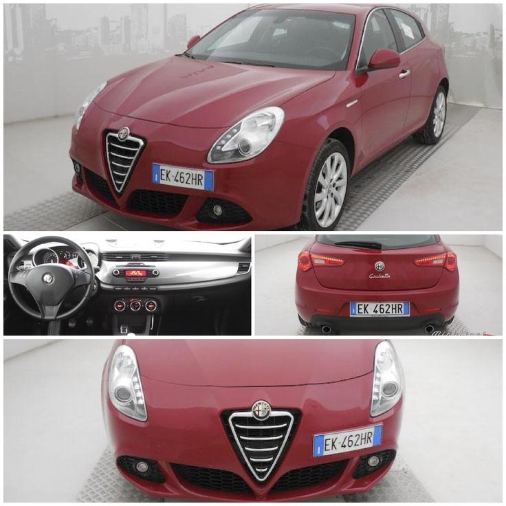 Alfa Romeo Giulietta 2.0 jtdm 140cv distinctive usata, del settembre 2011, color Rosso Alfa.   #AlfaRomeo #vetrinaMirafiori #MirafioriOutlet #usato