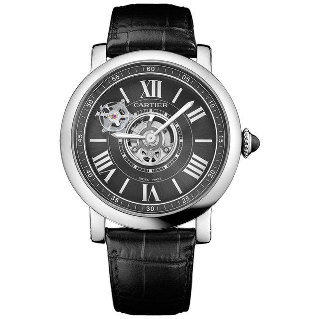 Rotonde de Cartier Astrotourbillon Carbon Crystal Watch