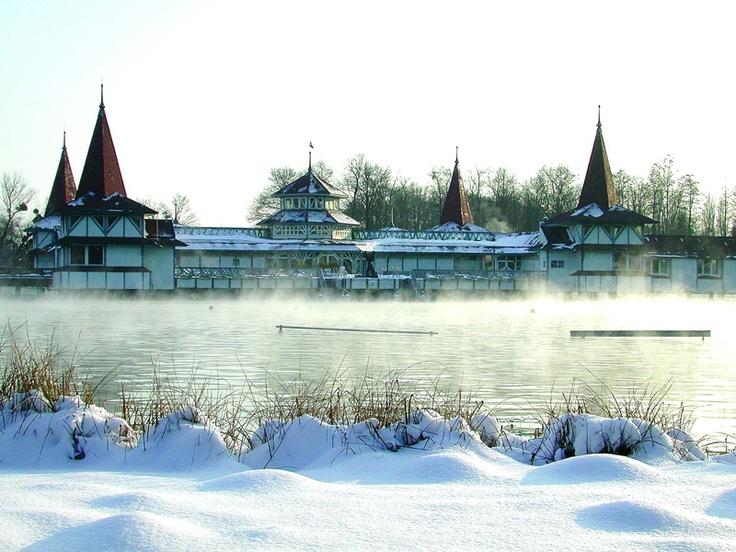 Lake Hévíz #Hungary #natural #health #Europe #thermal #healing #travel #cure #remedy