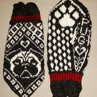 This pattern will be available for free through out February. Pugs and kisses!
