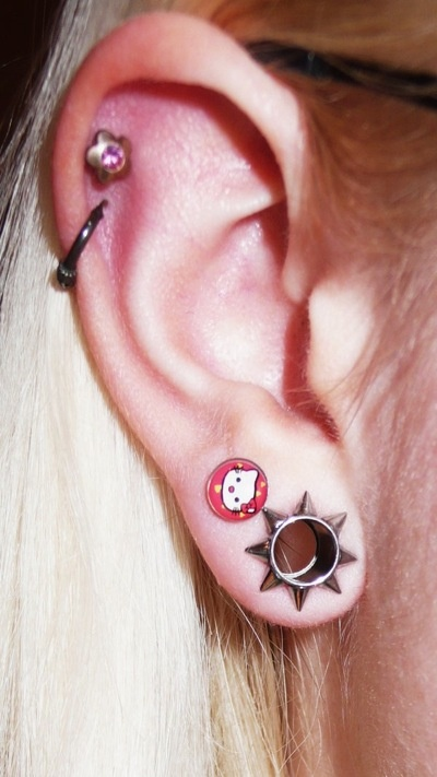 173 best images about Ear Piercings on Pinterest
