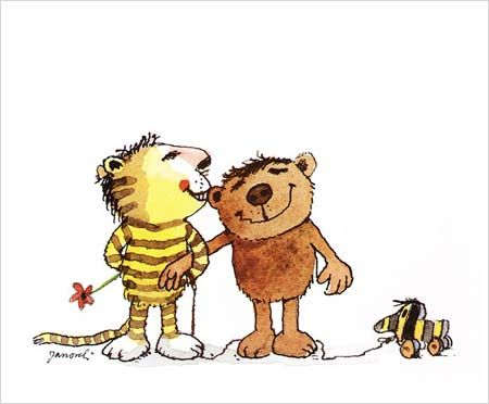 """Der kleine Tiger, der kleine Bär und die Tigerente von Janosch  """"Oh wie schön ist Panama!"""" Mein absolutes Lieblingskinderbuch!"""