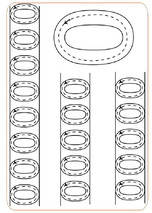 Actividades para imprimir Practica la escritura de los números 1