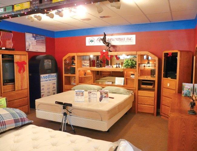 Waterbed bedroom furniture