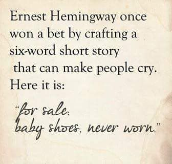 Pin by Molly Hanft on Favorite quotes | Baby shoes never ...