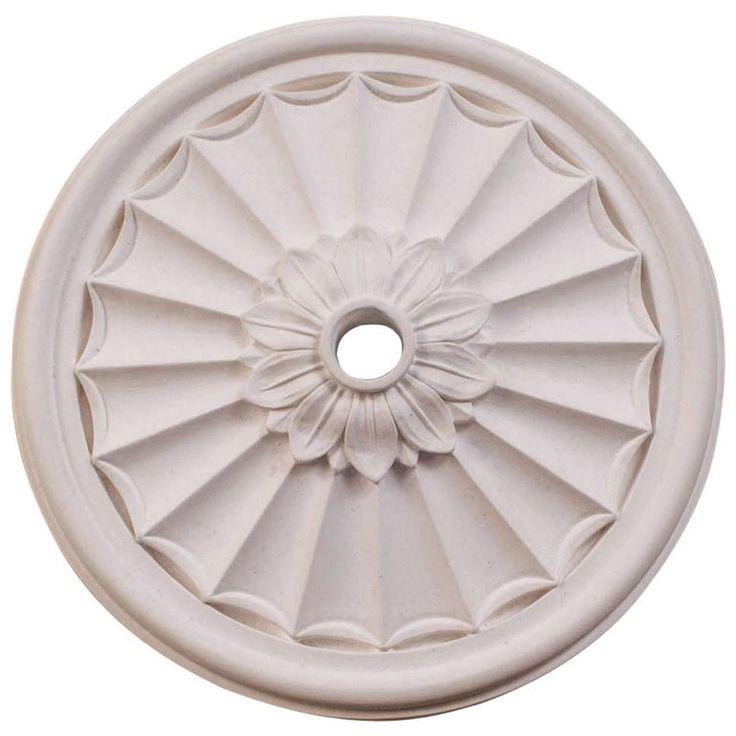 'Floral Canopy' Plaster Ceiling Medallions | 1stdibs.com