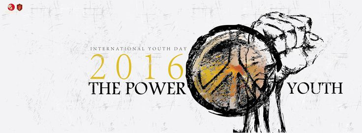 The Power of YOUTH  international youth day 2016 | 12 august  . .  . .  .  illustration: : Fayez Hassan #youthday #coverphoto #2016