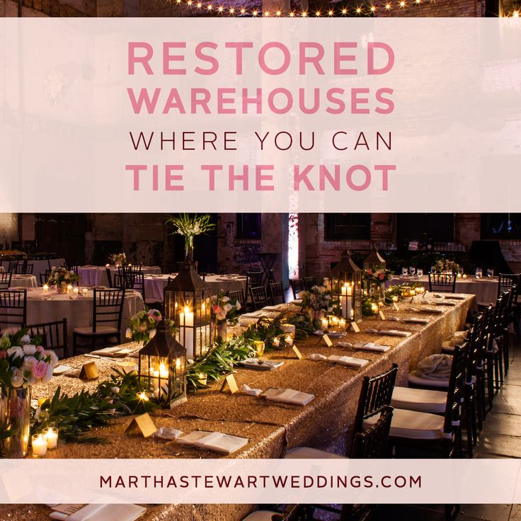 intimate wedding packages atlantga%0A Restored Warehouses Where You Can Tie The Knot