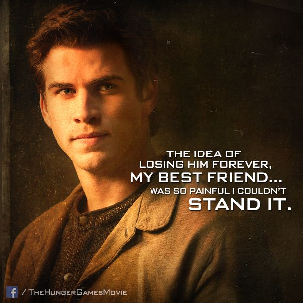 Gale Hawthorne - the only person Katniss ever trusted with her secrets. #CatchingFire