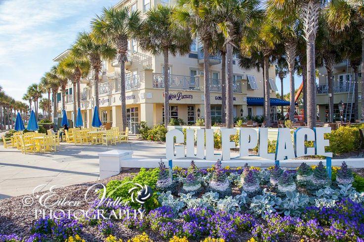 The shops at the end of Hwy 393 at Santa Rosa Beach, Florida
