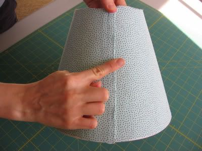 how to cover lamp shades