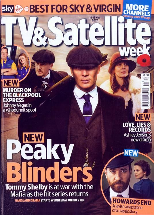 Tv & Satellite Week Magazine Subscription   Buy at Newsstand.co.uk   Television