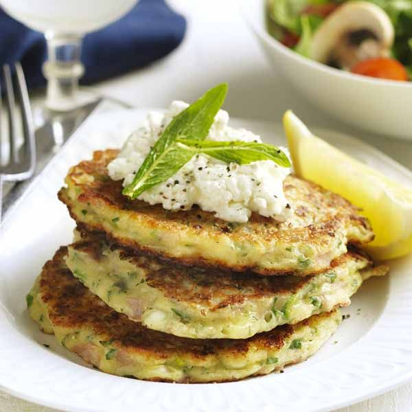 WeightWatchers.com.au: Weight Watchers recipe - Ham, herb and cottage cheese fritters
