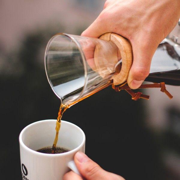 Chemex Kaffeebereiter mit 100 Filtern