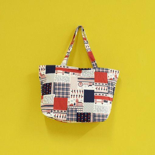 London Patchwork Bag #Colorize #ColorizeFashion