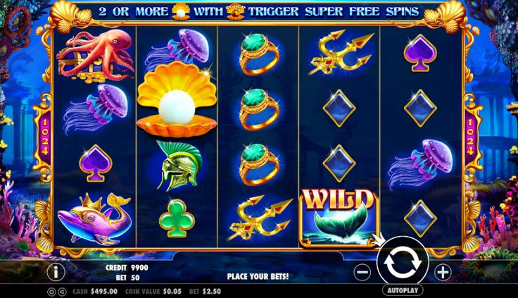 Картинки по запросу Atlantis Slot