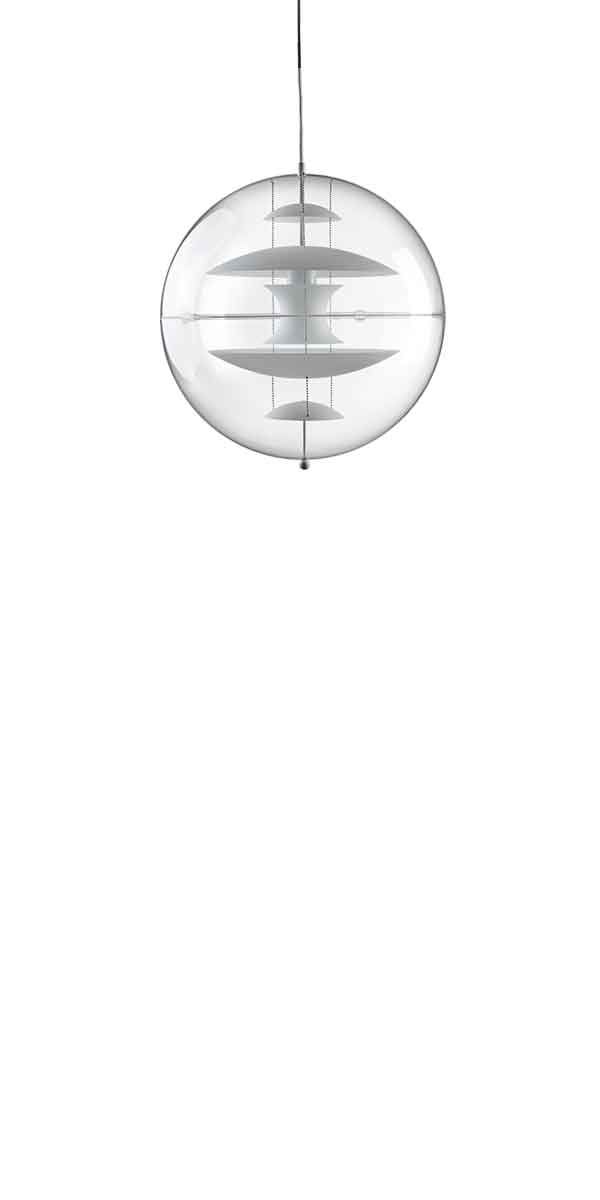 VP GLOBE GLASS LARGE - Pendant designed in 1969  by Verner Panton