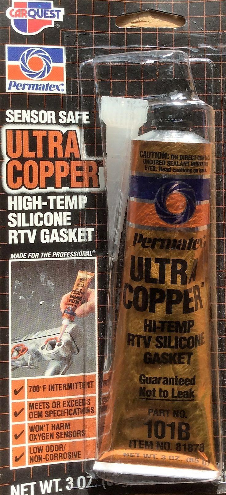 Ultra Copper Hi-Temp RTV Silicone Gasket