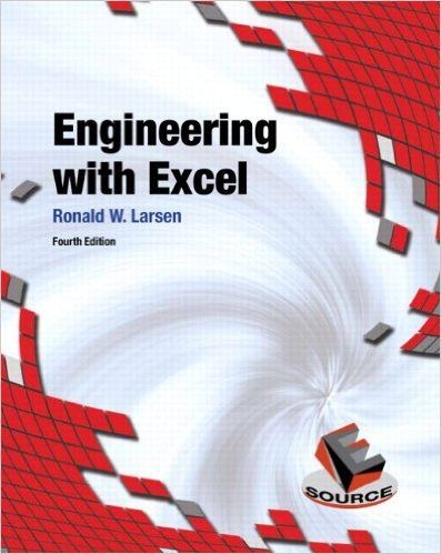 Download Engineering with Excel 4th Edition Pdf For Free - By Ronald W Larsen