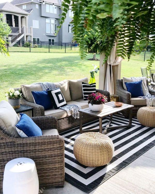 32 Trending Summer Patio Furniture Design Ideas Engineering Basic Outdoor Furniture Sets Outdoor Patio Decor Patio Style