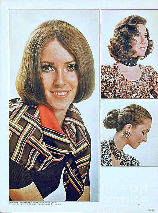 1960 70 Stylish Female Hair Styles Brown Mousy