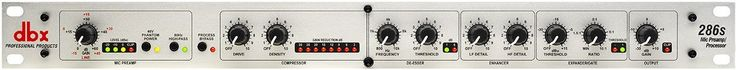 AmazonSmile: DBX 286s Microphone Pre-amp Processor: Musical Instruments