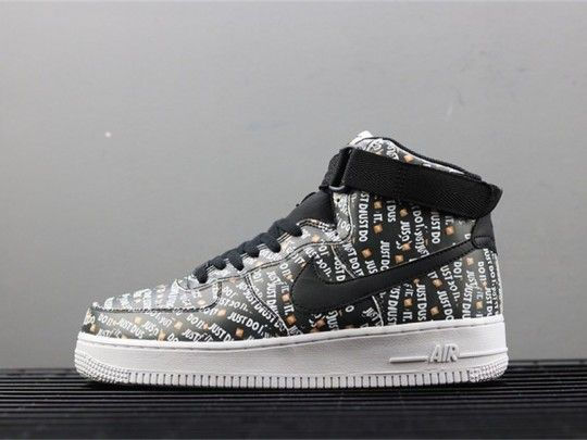 NIKE Air Force 1 Mid just do it AO5183-001  84fabb03e