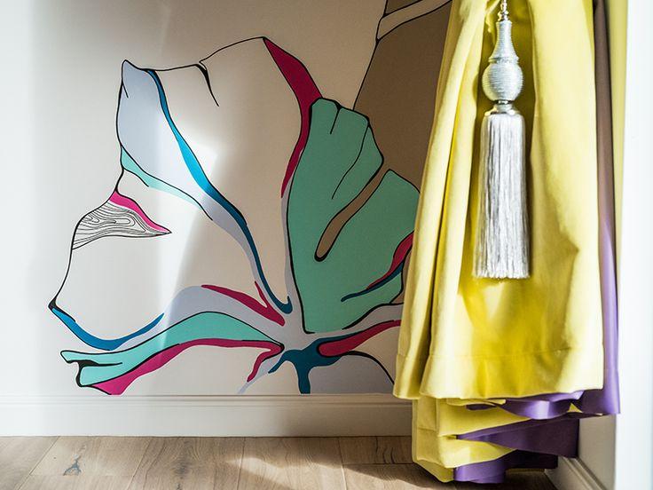 Interior Design Handpainted Wall Inspiration | Perete Pictat
