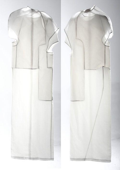 "CLOTHES || Shanghai independent fashion designer LIU ZHANGRUIYI's ""BODY IN DISORDER"""