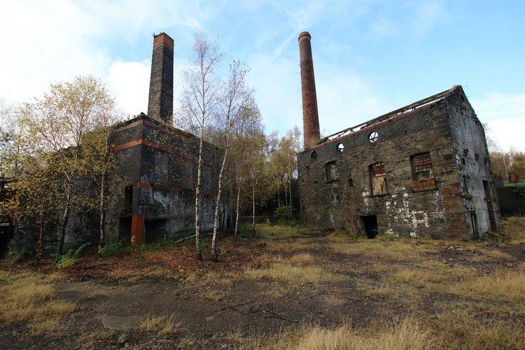 Hafod-Morfa Copper Works, Swansea, Wales - November 2016