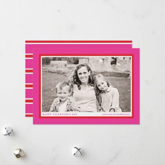 Family Valentine/'s Ornament Personalized Picture Frame Valentine/'s Ornaments