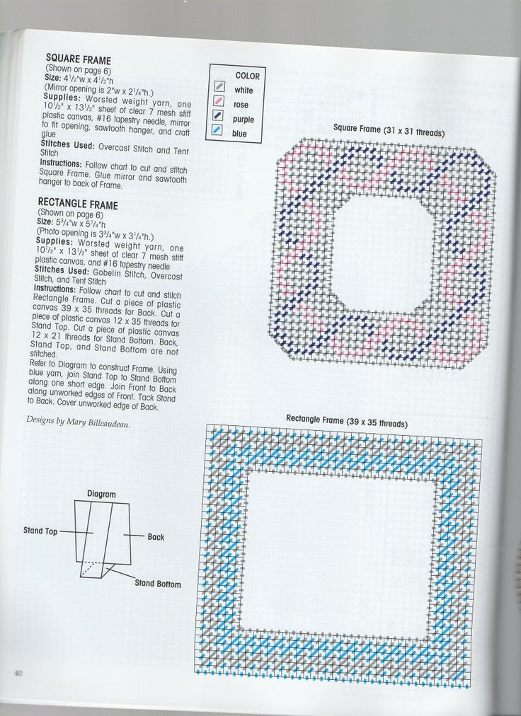 243 best needlepoint picture frame images on Pinterest | Frame ...