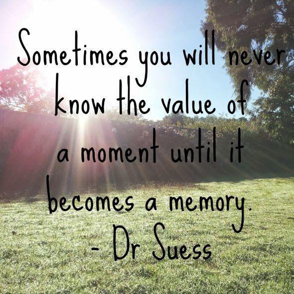 Enjoying the small things: Memory