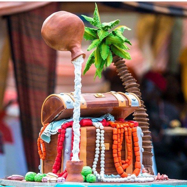 Nigerian wedding traditional weddig cake ideas rikie's cakes ademolaniran
