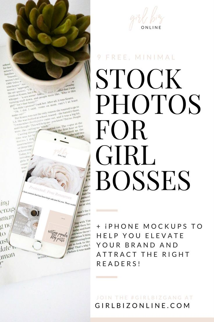9 FREE Minimal Stock Photos for Girl Bosses - elevate your brand with iPhone mockups and gorgeous images for free!