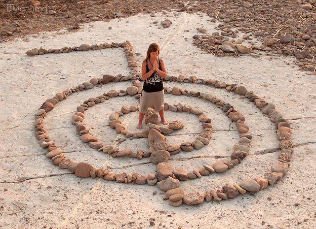 cho ku rei Reiki symbol as a labyrinth.