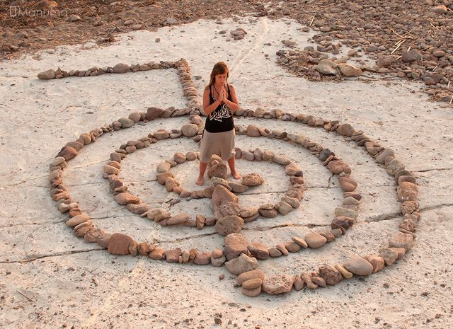 cho ku rei - I love how the symbol is made like a labyrinth.