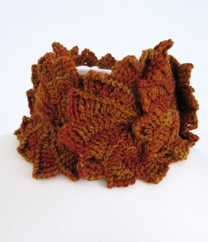 """From the book """"3d crochet"""" by Sidsel Sangild"""