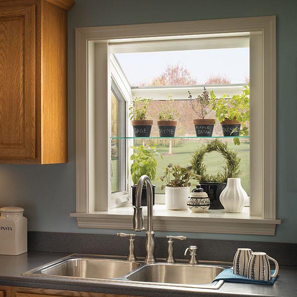 Kitchen Window Garden Ideas: Best 25+ Window Herb Gardens Ideas On Pinterest