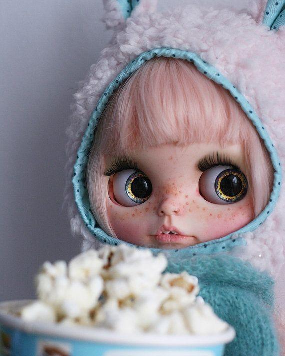 Blythe doll custom OOAK little Eva by MYDOLLSBoutiqueStore on Etsy