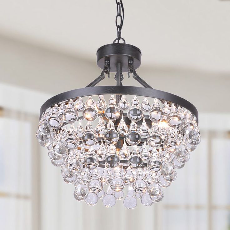 Ivana 5 light Luxury Crystal Chandelier in Antique