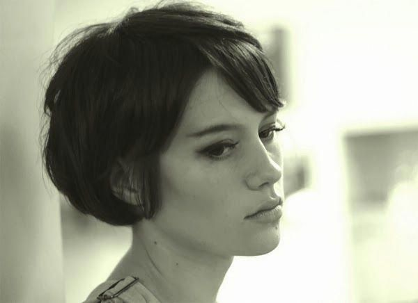 Oh So Lovely Vintage: Short hair don't care. #cuteShorthair