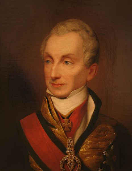 Portrait of Austrian statesman Klemens von Metternich (1773-1859),circa 1835-1840,oil, Heeresgeschichtliches Museum Wien.