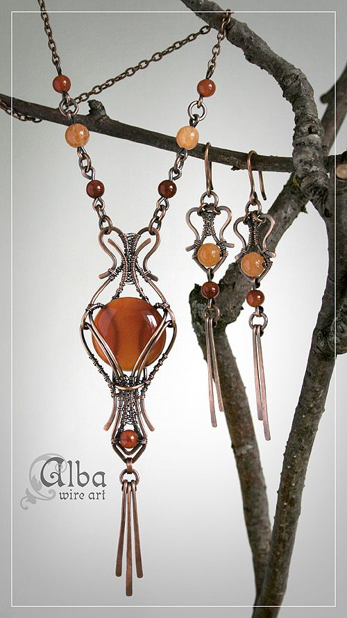 28 best Alba, Wire Wrapped Jewelry images on Pinterest | Wire ...