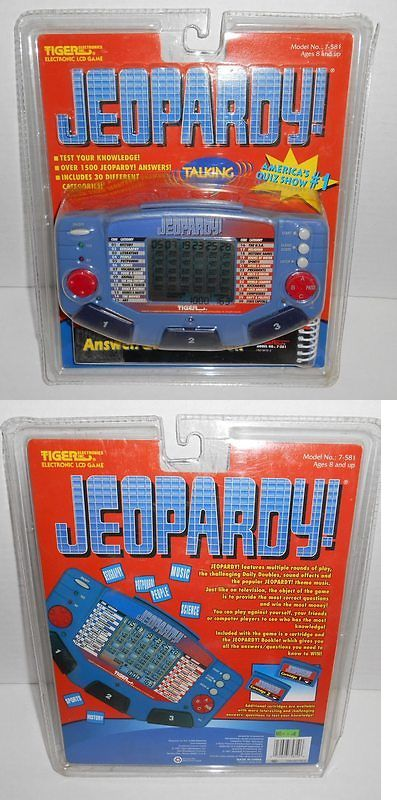 Multiple Subjects Mixed Lots 165961: Vintage 1997 New Jeopardy Tiger Electronic Lcd Game 1500 Answers 30 Catagories -> BUY IT NOW ONLY: $32.77 on eBay!