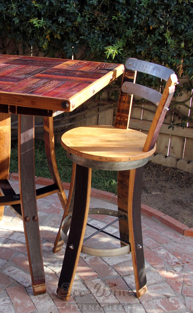 Best 25 Barrel Furniture Ideas On Pinterest Wood Barrel Ideas Whiskey Barrels And Wine Furniture