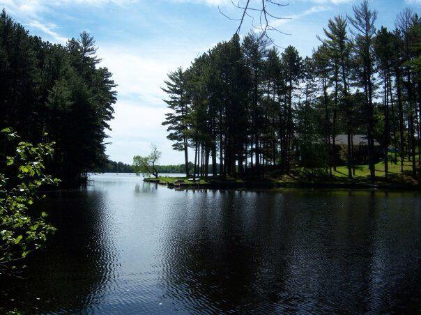 Tomahawk Wisconsin Lake Mohawksin Tomahawk Wisconsin Wisconsin River Scenic