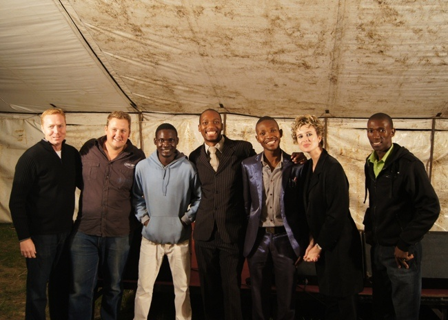 The MTHATHA Crusade team. Thanks for all the hard work, guys!