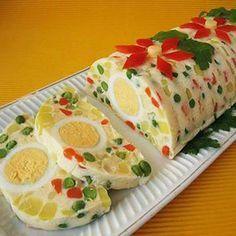 Zöldséges tavaszi felüdülés recept